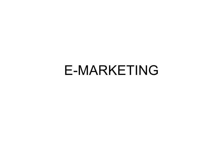 Digital marketing, e-marketing, emarketing, marketing