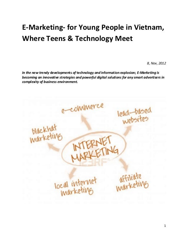 E-Marketing- for Young People in Vietnam,Where Teens & Technology Meet                                                    ...