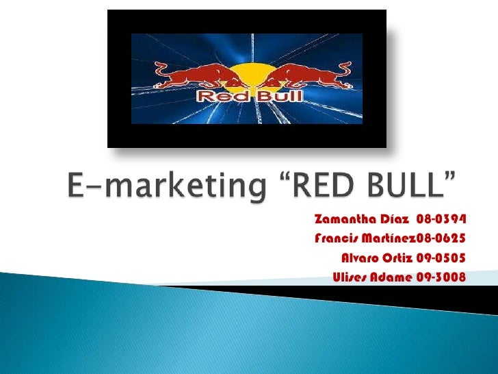 "red bull case study marketing management Marketing management and sales management ""case studies in marketing research go red bull tech snacks to 11."