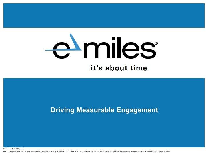 e-Miles Media Kit Presentation