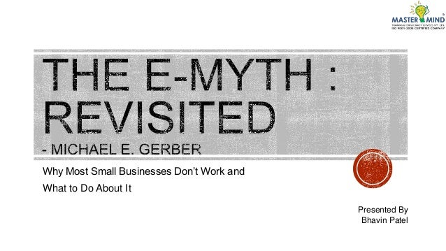 e myth revisited summary pdf