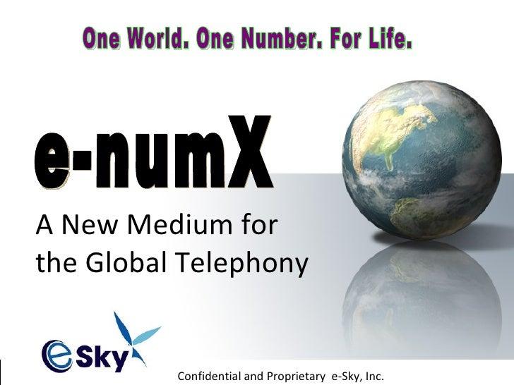 e-numX incentive program