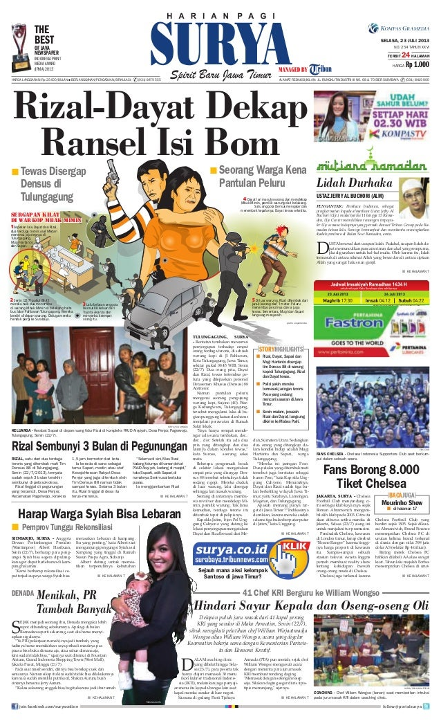 Epaper Surya 23 Juli 2013