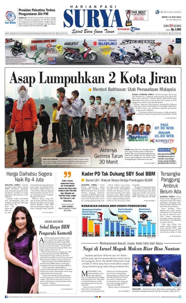 Epaper Surya 24 Juni 2013