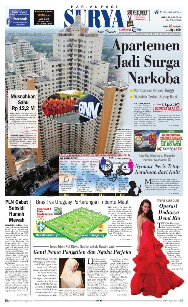 Epaper Surya 26 Juni 2013