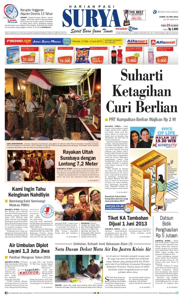 E paper surya 31 mei 2013