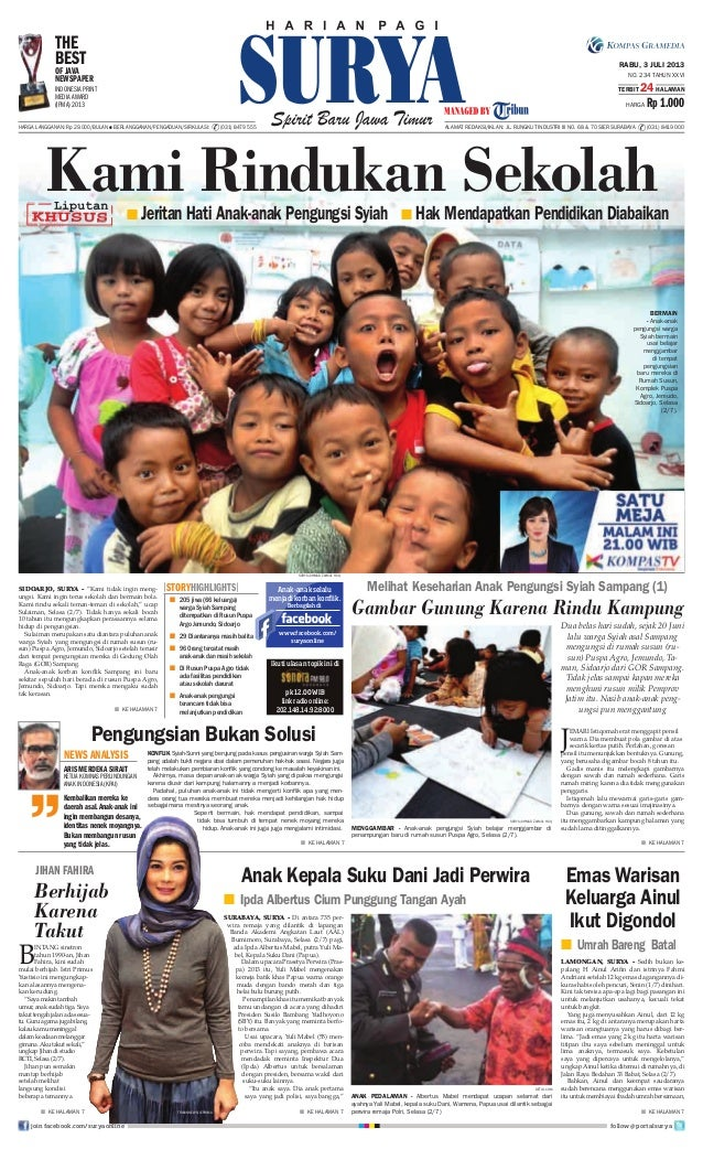 E paper surya 3 juli 2013