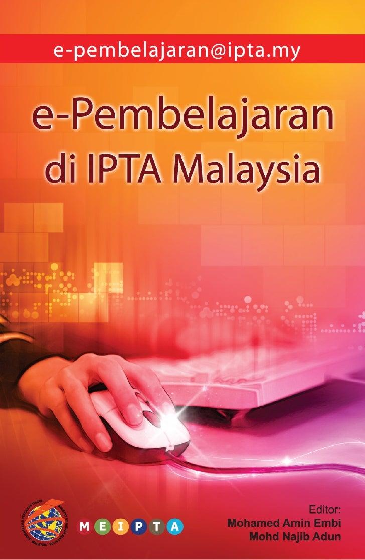 e-pembelajaran di IPT Malaysia oleh Mohamed Amin Embi