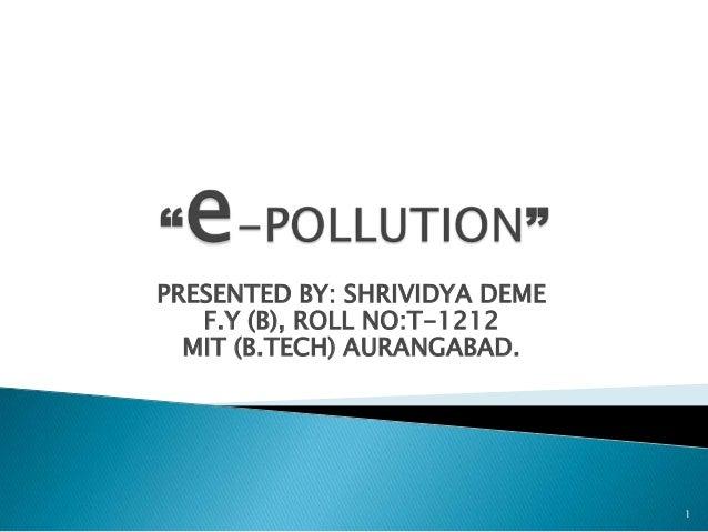 pollution Sharan Bindroo 122 views