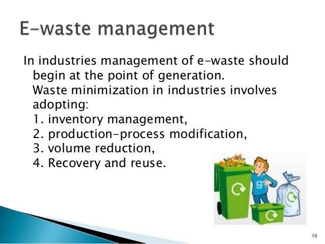 Essay on e waste