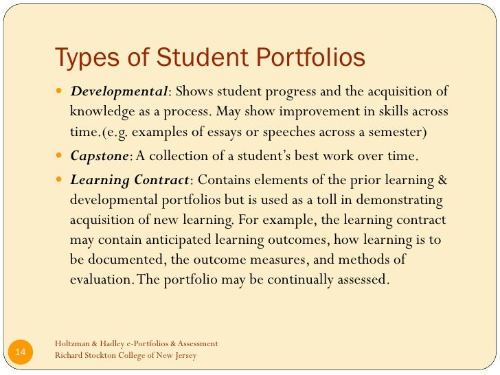 standardized testing portfolio assessment At issue is how to create alternatives to standardized tests that will inform parents and portfolio-based assessment can be used to identify teachers.