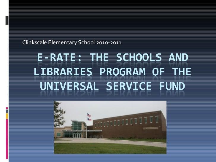 E rate presentation