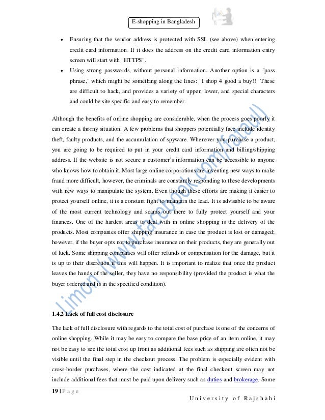 e commerce challenges and solutions research paper