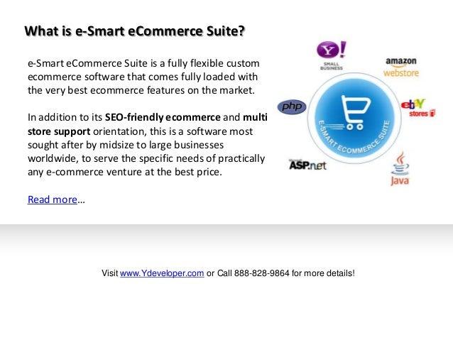 e-Smart eCommerce Suite: A Custom eCommerce Solution