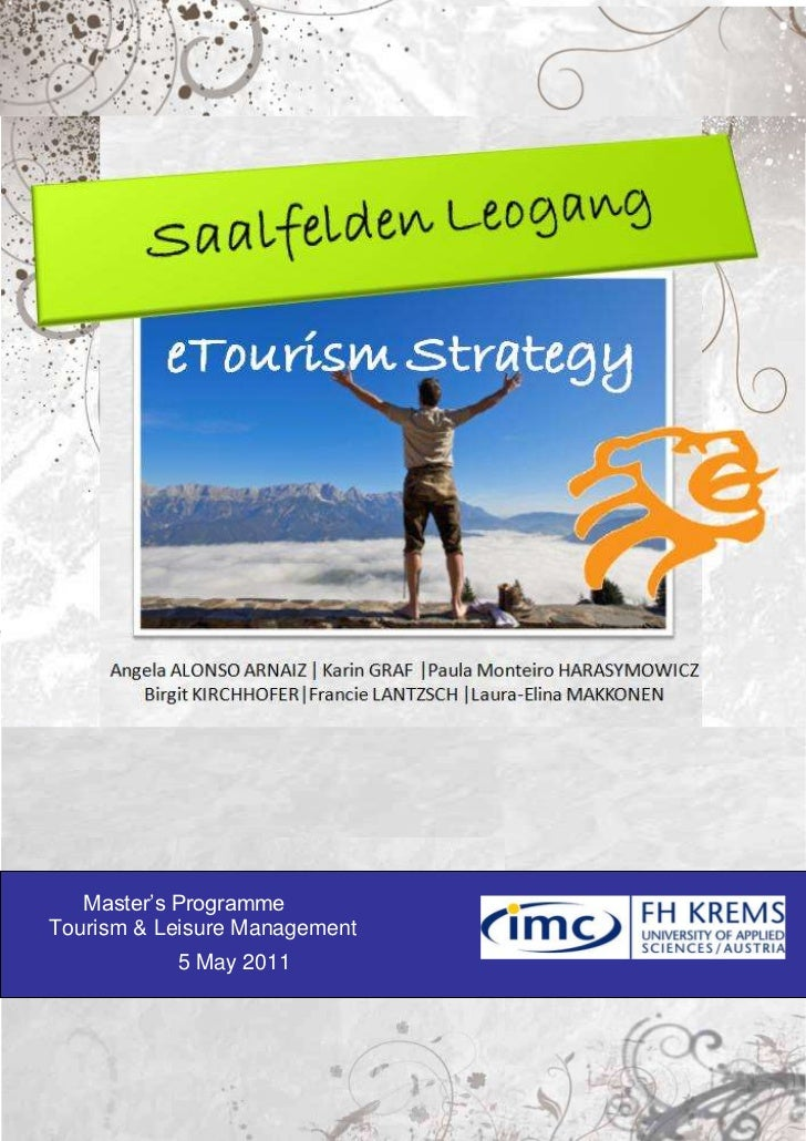 E-strategy report for Saalfelden Leogang