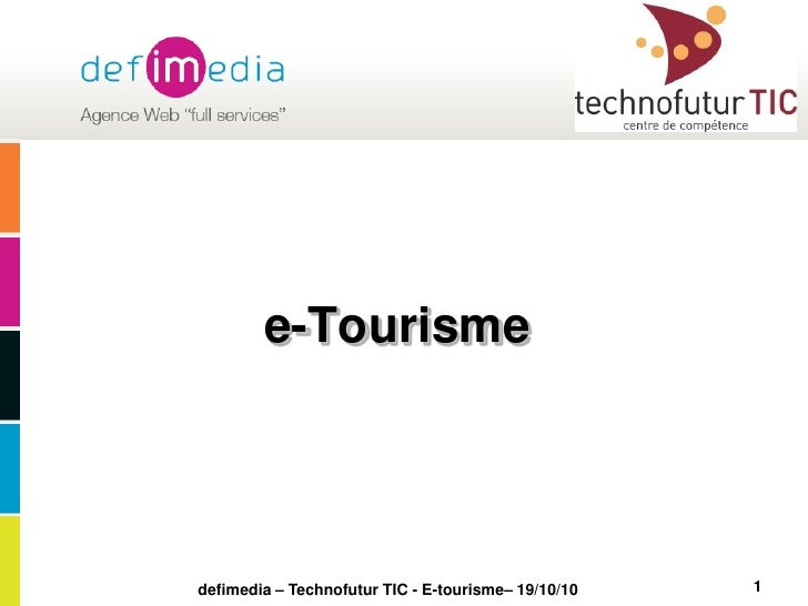 Formation e-tourisme defimedia