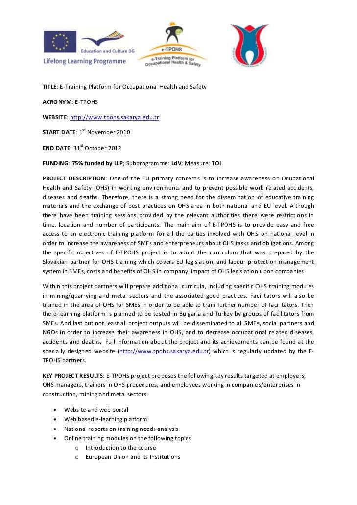 E tpohs  info sheet