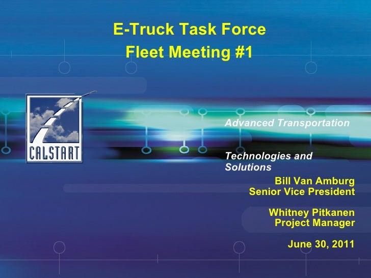 E ttf fleet meeting 1 june 30 2011