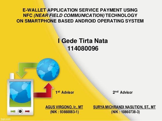 E wallet nfc service payment
