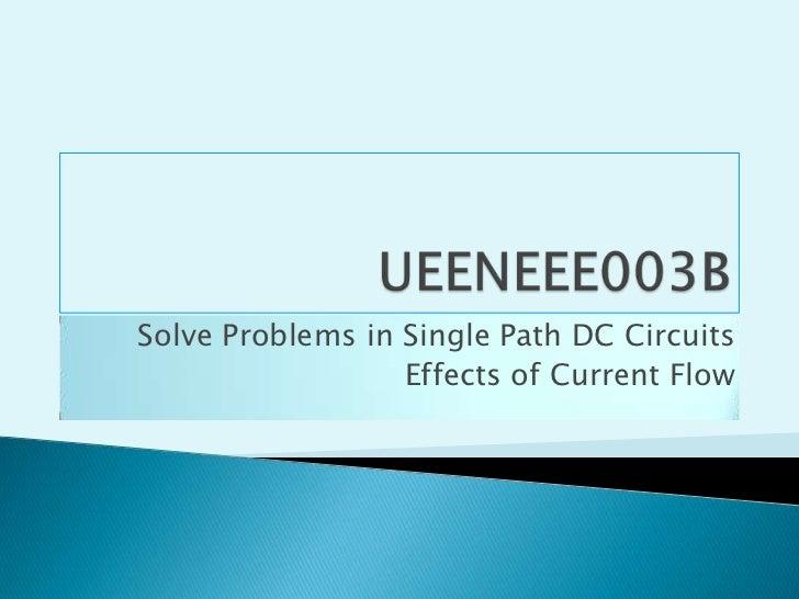E003B current effects