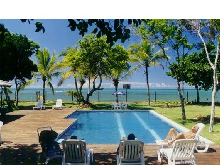 Flat E011 Resort na beira da praia de Araçaipe, Arraial da Ajuda