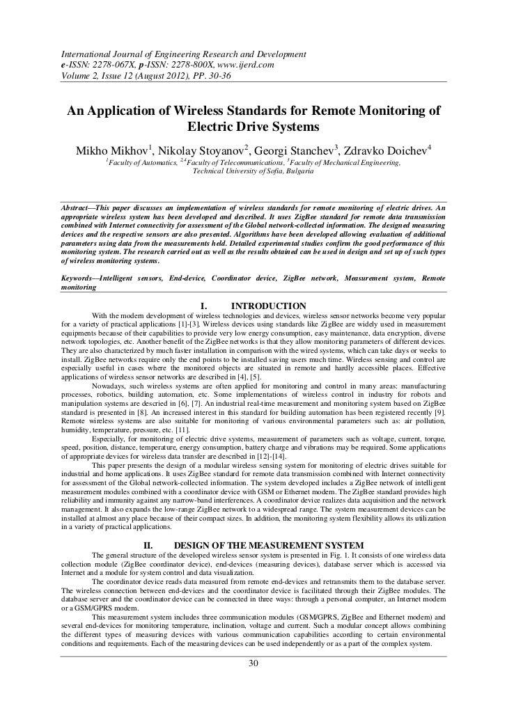 International Journal of Engineering Research and Developmente-ISSN: 2278-067X, p-ISSN: 2278-800X, www.ijerd.comVolume 2, ...