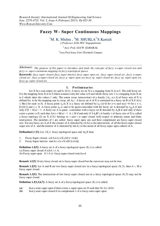 Research Inventy: International Journal Of Engineering And ScienceIssn: 2278-4721, Vol. 2, Issue 4 (February 2013), Pp 025...
