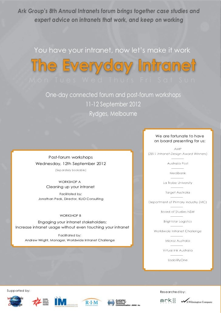 The Everyday Intranet