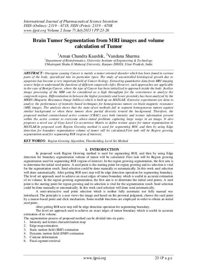 International Journal of Pharmaceutical Science Invention (IJPSI)