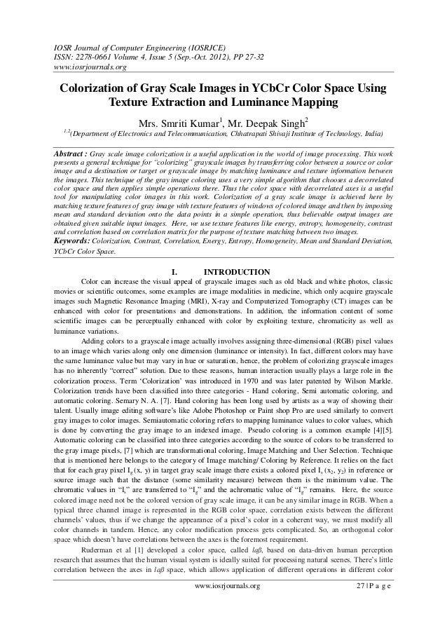 IOSR Journal of Computer Engineering (IOSRJCE) ISSN: 2278-0661 Volume 4, Issue 5 (Sep.-Oct. 2012), PP 27-32 www.iosrjourna...
