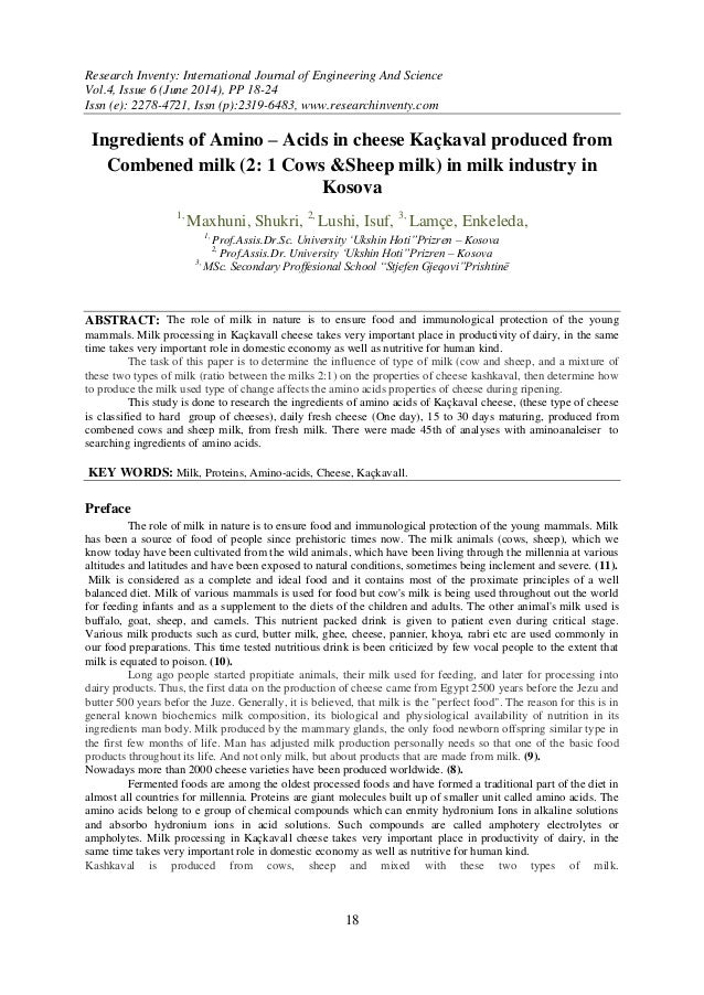 Research Inventy: International Journal of Engineering And Science Vol.4, Issue 6 (June 2014), PP 18-24 Issn (e): 2278-472...