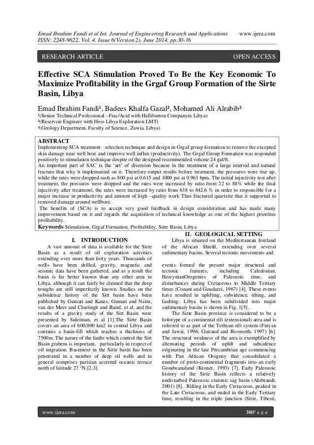 Emad Ibrahim Fandi et al Int. Journal of Engineering Research and Applications www.ijera.com ISSN: 2248-9622, Vol. 4, Issu...