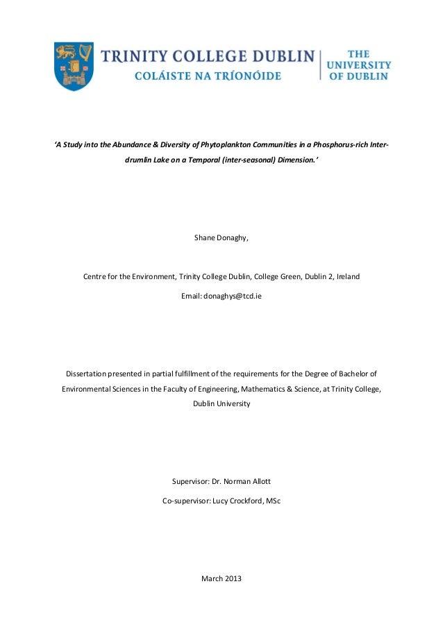 Dissertation full text