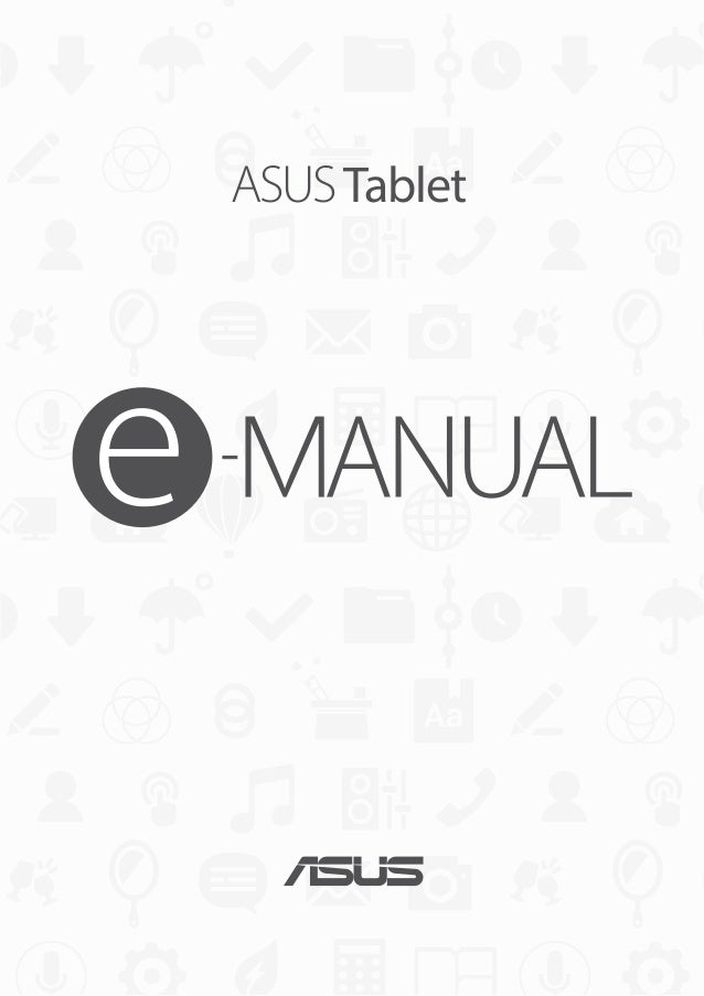 ASUS ZenPad 10 Manual / User Guide ‏(Z300C)