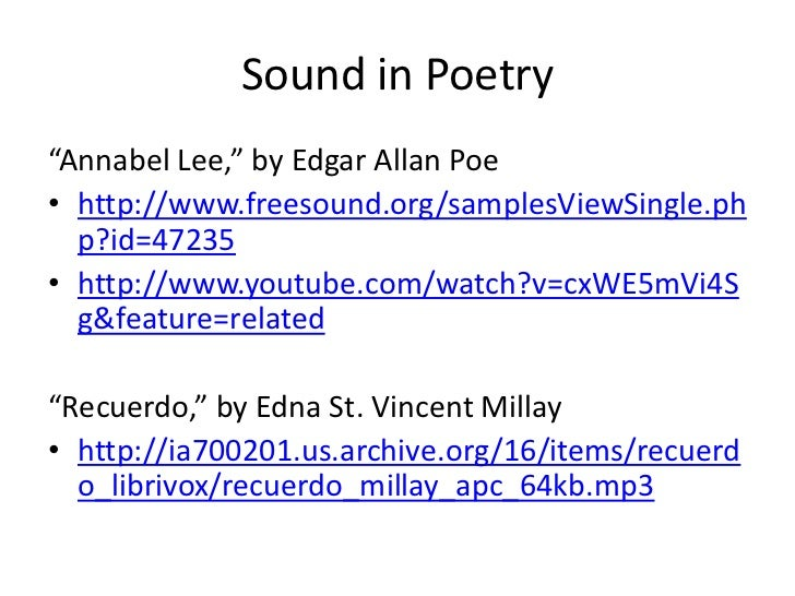 annabel lee poem analysis essay Poem analysis poem movie poemsessay(gwendolyn brooks) research(swan theatre) romeo and juliet annabel lee.