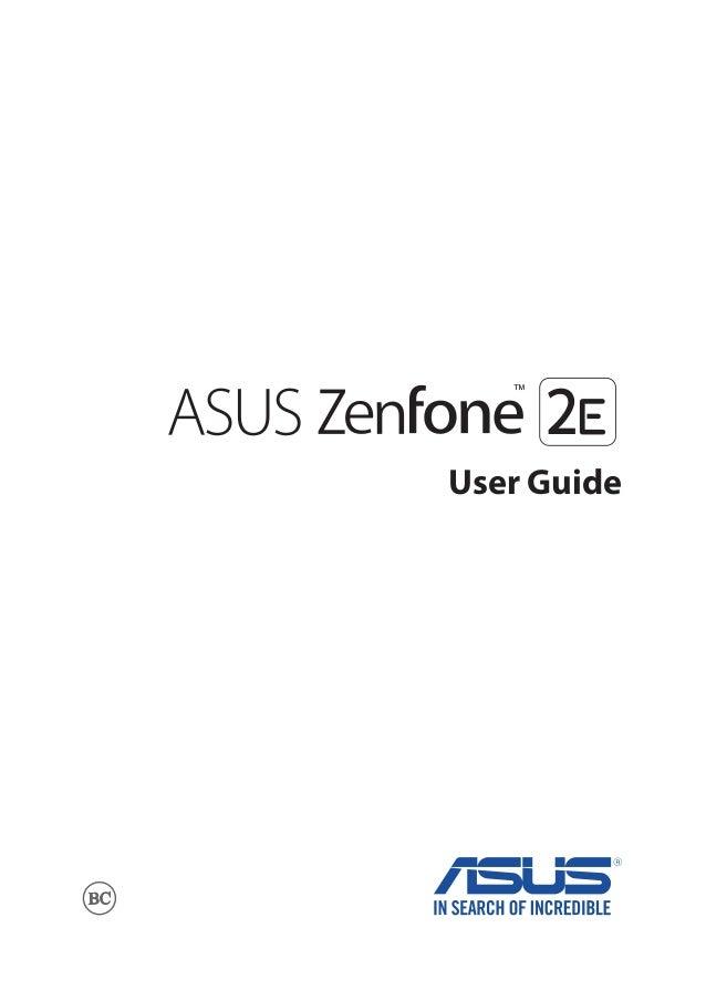 asus zenfone 3 user manual