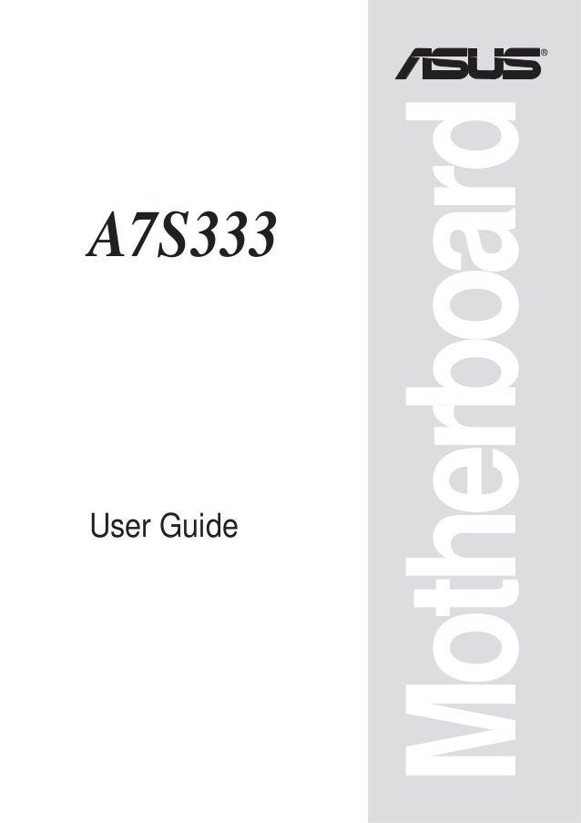 ®             MotherboardA7S333User Guide