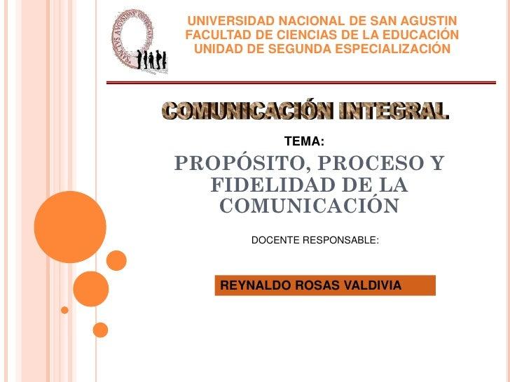 UNIVERSIDAD NACIONAL DE SAN AGUSTINFACULTAD DE CIENCIAS DE LA EDUCACIÓN UNIDAD DE SEGUNDA ESPECIALIZACIÓN             TEMA...