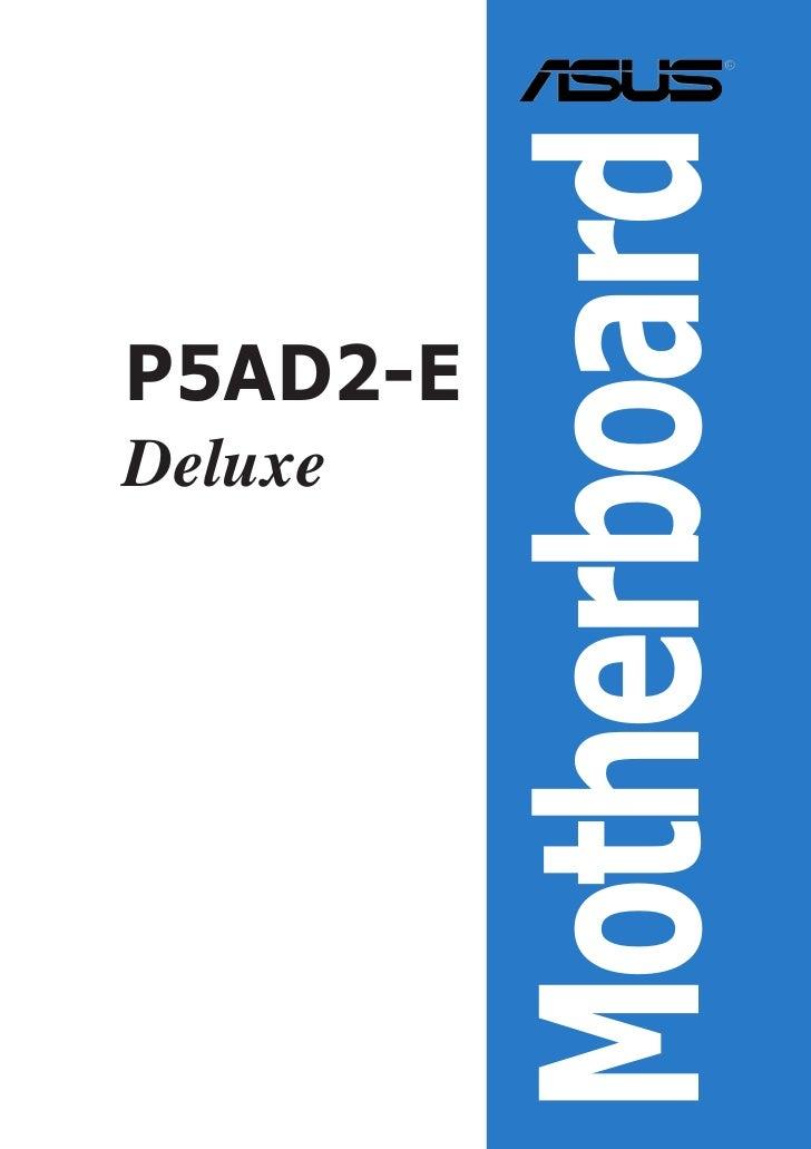 MotherboardP5AD2-EDeluxe