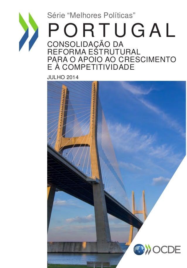 Portugal: Consolidação da reforma estrutural para o apoio ao crescimento e à competitividade