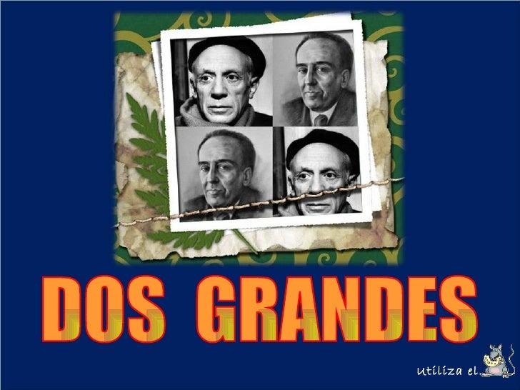Pablo Ruiz Picasso & Antonio Machado