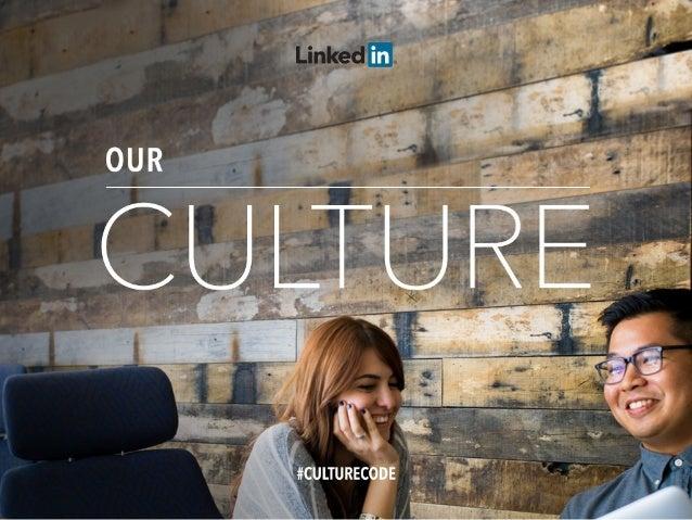 LinkedIn Culture Deck