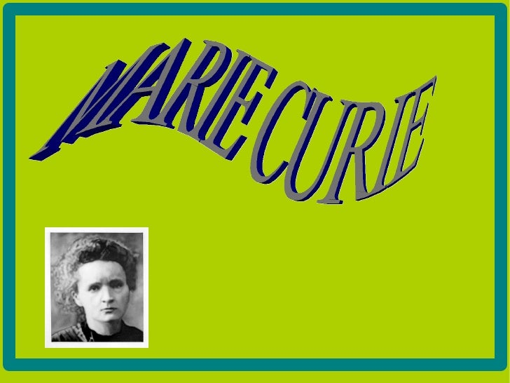 Marie Curie va ser una química i física polonessa,posteriorment nacionalitzada francessa. Va ser laprimera persona a rebre...
