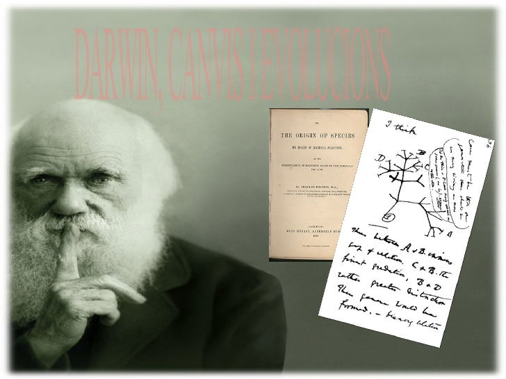 DARWIN, CANVIS I EVOLUCIONS