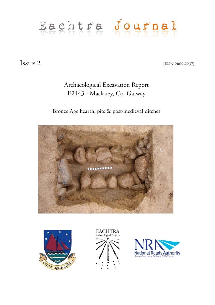 Eachtra Journal  Issue 2                                                     [ISSN 2009-2237]                    Archaeolo...
