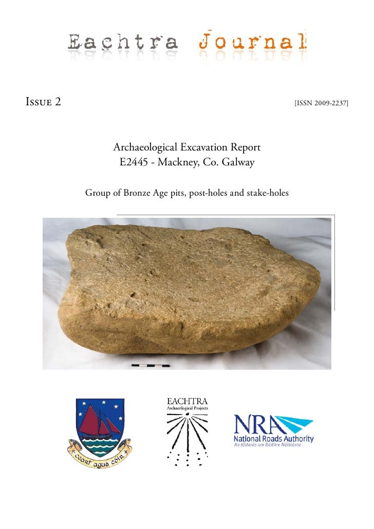 Archaeological Excavation Report - E2445 Mackney, Co. Galway