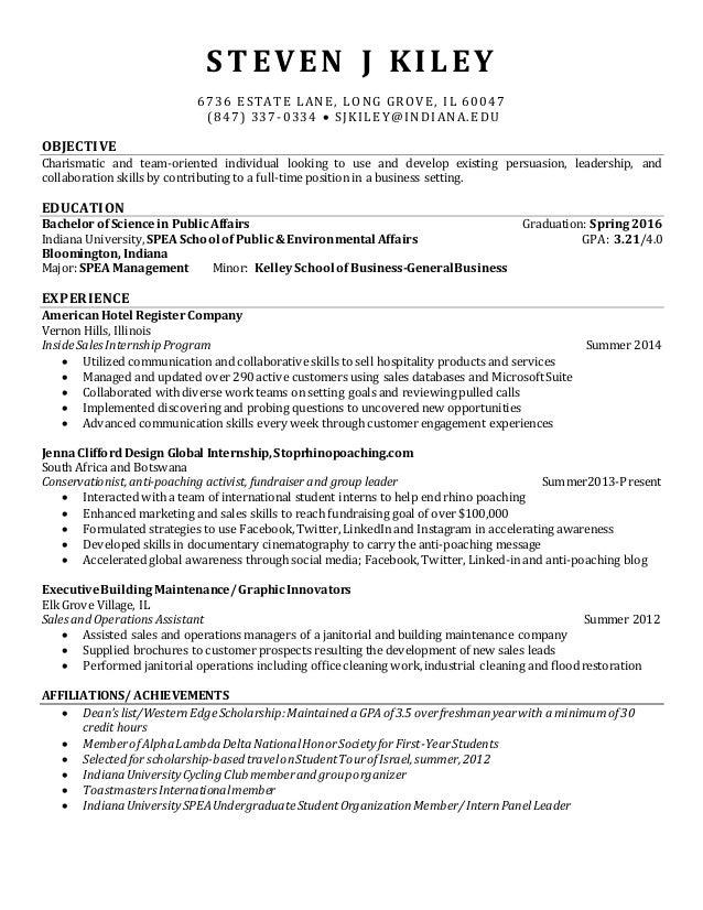 steven j kiley updated resume september 2014