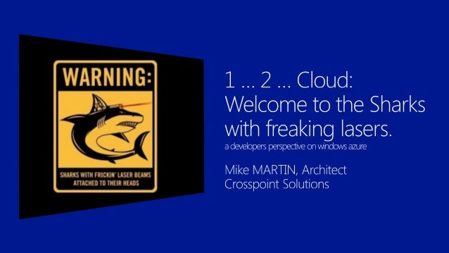           Mike Martin Architect MEET Member Crew Member of Azug Windows Azure Insider Windows Azure MVP @Techmike...