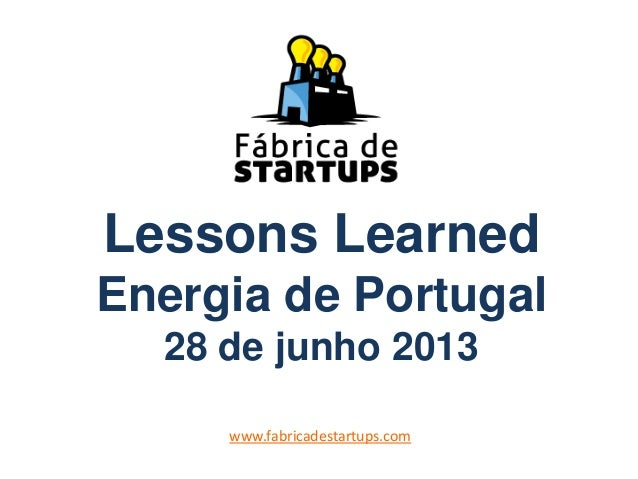Lessons Learned 6