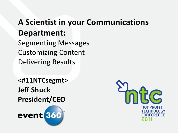 A Scientist in Your Communications Department